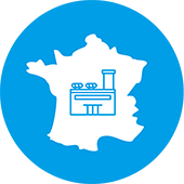 2 milk factories and 5 food factories in France